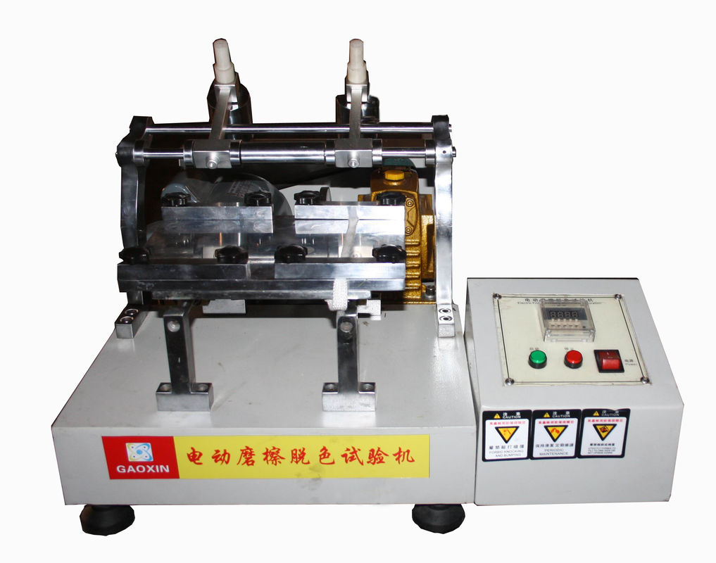 Electric Friction Discoloration Tester For Rubbing Discoloration Test Of Dyed Fabric Leather