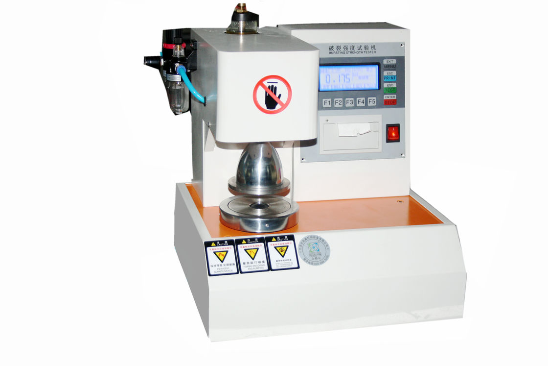 Advanced Automatic Rupture Paper Testing Equipments LCD Display For Machine