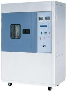 ISO 1431 Standards Electrical Heating Tube Ozone Accelerate Aging Chamber Environmental Test Chamber