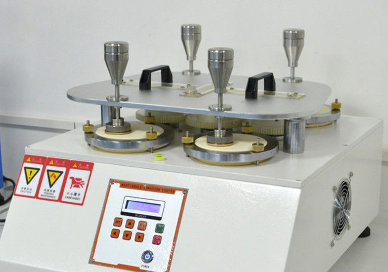 Martindale Tester For Abrasion And Pilling Properties Test In Textile Fabrics