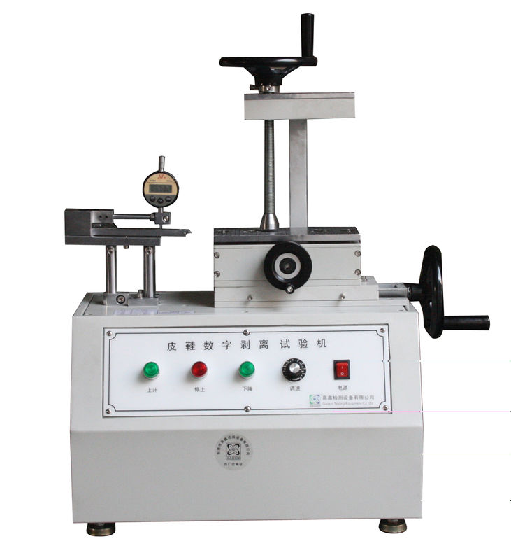 Silver Steel Footwear Testing Equipment For Peel Strength Test For BS 20344 Standard