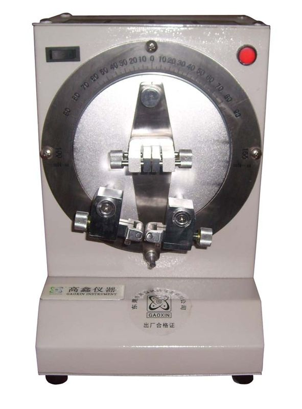 Manual Type Paperboard Strength Taber Bending Stiffness Tester